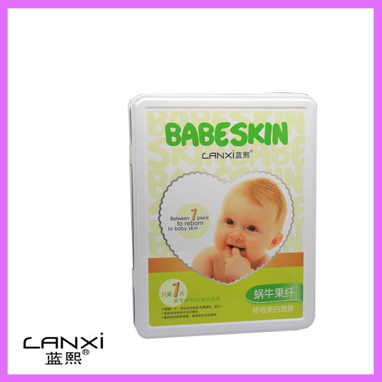蓝熙:婴儿面膜5款 LX:0021 蜗牛果纤终极美白面膜