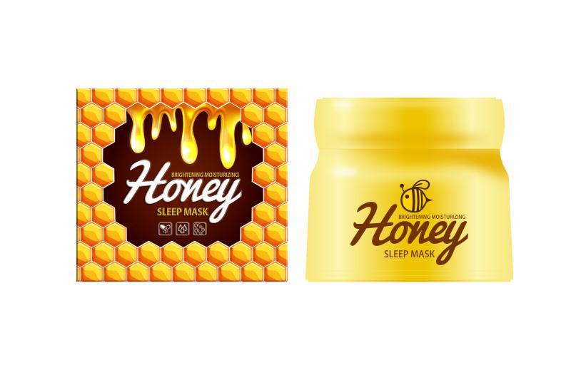 X3817 蜂蜜亮肤保湿睡眠面膜